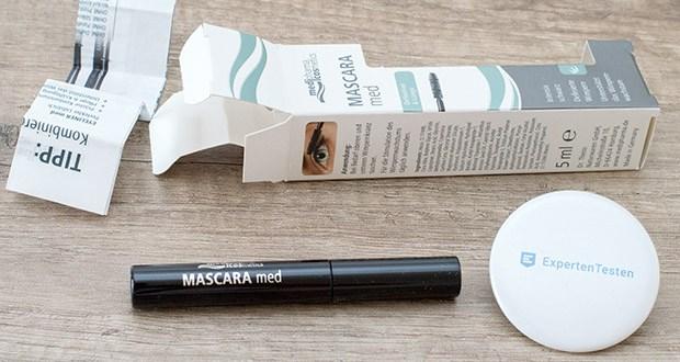 Dr. Theiss Naturwaren MASCARA med 5 ml im Test - pigmentiert die ungeschminkten Wimpern nach und nach dunkler