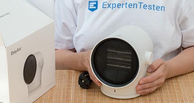 EasyAcc Mini Keramik Heizlüfter im Test - abnehmbare und Waschbare Schutzabdeckung
