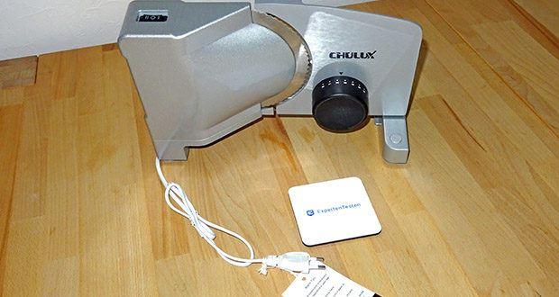 CHULUX Allesschneider im Test - stufenlose Schnittstärke (0-20mm)