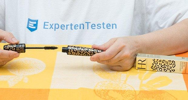 Helena Rubinstein Mascara Lash Queen 01-Black im Test - die Bürste trennt die Wimpern optimal voneinander und ermöglicht so, jede einzelne Wimper mit Mascara zu umhüllen