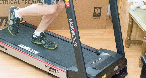 Das Laufband Home Track HT1000F mit incline von Miweba Sports im Test