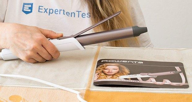 Rowenta CF3460 Lockenstab Premium Care Precious Curl im Test - Keramik-Cashmere-Keratin Beschichtung mit 25 mm Durchmesser