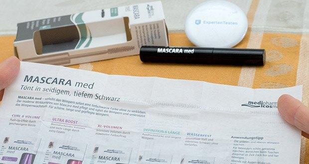 Dr. Theiss Naturwaren MASCARA med 5 ml im Test - enthält Keratin, Panthenol und Feuchtigkeitsspender