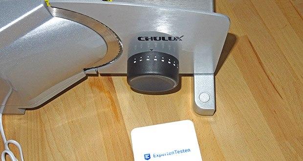 CHULUX Allesschneider im Test - mit 2 Edelstahl- Wellenschliffmesser