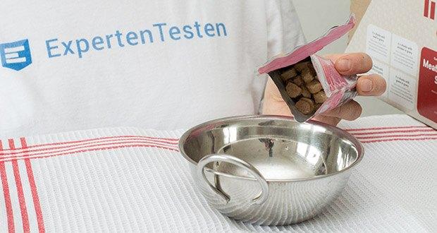 Lifelong Katzenfutter mit Fleischauswahl im Test - Fleisch und tierische Nebenprodukte 32 % (einschließlich mindestens 4 % des genannten Proteins)