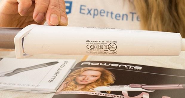 Rowenta CF3460 Lockenstab Premium Care Precious Curl im Test - automatische Abschaltung