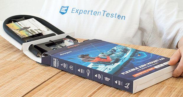 Deeper CHIRP+ Smart Sonar GPS-Fischfinder Set im Test - Deeper Flexible Arm 2.0 – flexibler Montagearm für Angelboot, Bellyboot und Kajak