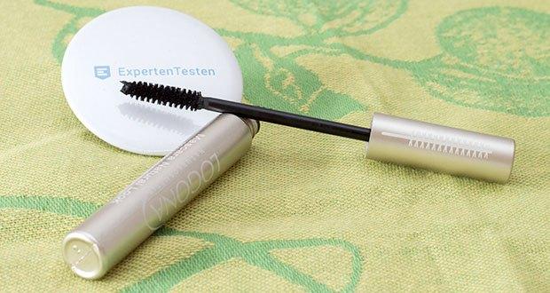 LOGONA Naturkosmetik Wimperntusche Mascara Natural Look im Test - mit einem natürlichem Anti-Aging-Komplex aus Bio-Cranberry-, Bio-Apfelsamen- und Bio-Braunalgenextrakt und einem Mix aus Edelsteinen