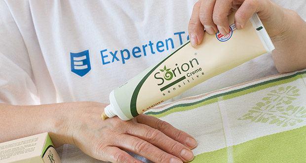 Sorion Creme Sensitive im Test - Sanfte Repair Creme für empfindliche, trockene, akut oder chronisch gereizte Haut