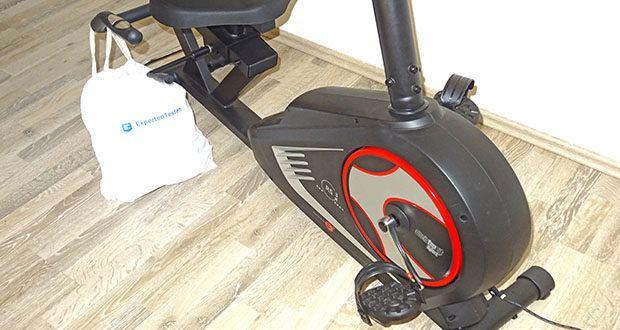 Christopeit Ergometer im Test - der stabile Sitz-Ergometer RS 3 ist mit einem verschleißfreien Magnetbremssystem und flüsterleisem Flachriemenantrieb ausgestattet