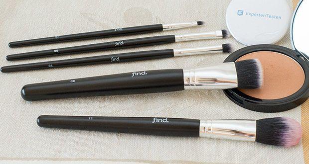 FIND Starterset 5 Pinsel im Test - ein komplettes Starterset für ein vollständiges, schnelles und präzises Make-up