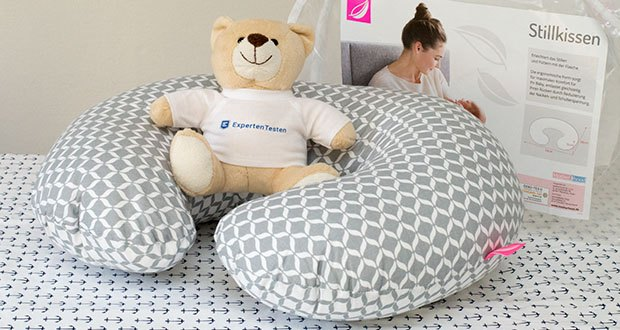 Motherhood Stillkissen im Test - von Hebammen empfohlen