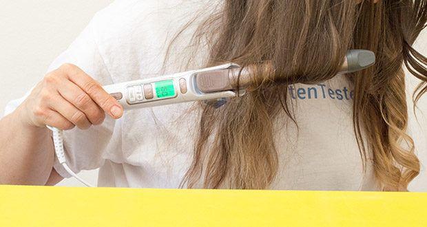 Rowenta CF3460 Lockenstab Premium Care Precious Curl im Test - Dünnes Haar: 150°C/ 10 Sek. / Normales Haar: 160°C/ 10 Sek. / Dickes Haar: 170°C/ 10 Sek.