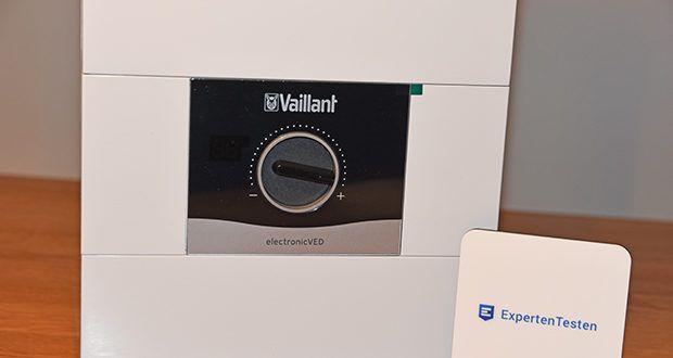 Vaillant Elektro-Durchlauferhitzer VED E 21/7 im Test - bis zu 4 wasserdichte, bidirektionale Funkfernbedienungen einsetzbar