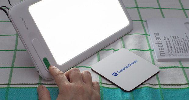 Medisana LT 460 Tageslichtlampe im Test - klein und Handlich