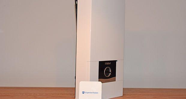 Vaillant Elektro-Durchlauferhitzer VED E 21/7 im Test - Temperaturwählbereich 20-60 Grd.C