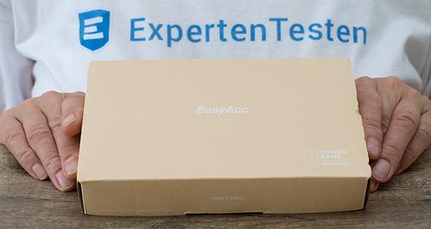 EasyAcc 20000mAh Powerbank im Test - erhalten Sie einen großartigen Kundenservice und eine 18-monatige Garantie