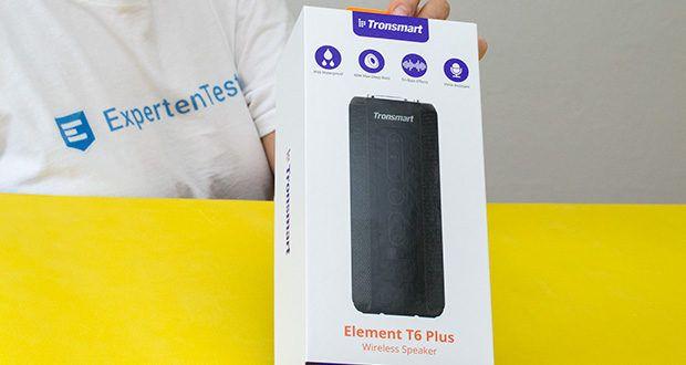 Tronsmart T6 Plus Bluetooth Lautsprecher im Test - bis zu 15 Stunden Spielzeit
