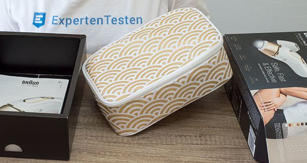 Braun Silk-Expert Pro 5 IPL-Haarentfernungsgerät im Test - klinisch getestet und dermatologisch als hautsicher anerkannt ist