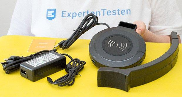 EasyAcc Kopfhörerhalter Headset Halterung im Test - besteht aus Hochwertiges ABS & TPU Gummi Material