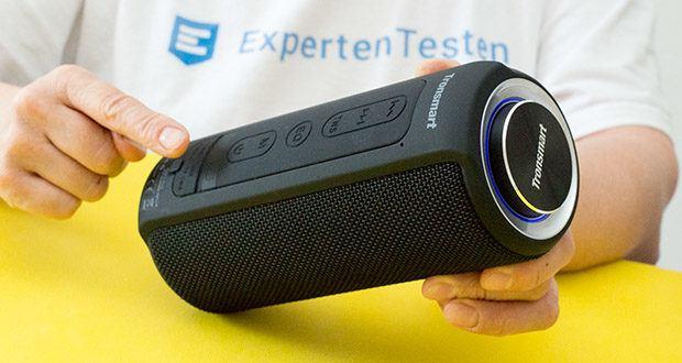 Tronsmart T6 Plus Bluetooth Lautsprecher im Test - der Equalizer kann in 3 Audiomodi (Vocal, 3D Deep Bass und Extra Bass) geändert werden
