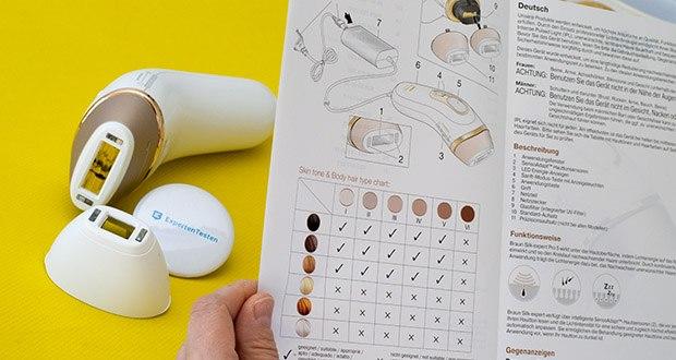 Braun Silk-Expert Pro 5 IPL-Haarentfernungsgerät im Test - für eine schnellere Behandlung löst der Gleitmodus mehr Lichtimpulse aus und ist somit ideal geeignet für große Körperbereiche, während der Präzisionsmodus eine präzisere Behandlung für kleinere und empfindlichere Bereiche bietet