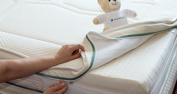 KIPLI Naturlatex-Matratze im Test - Schonbezug aus Wolle und Bio Baumwolle