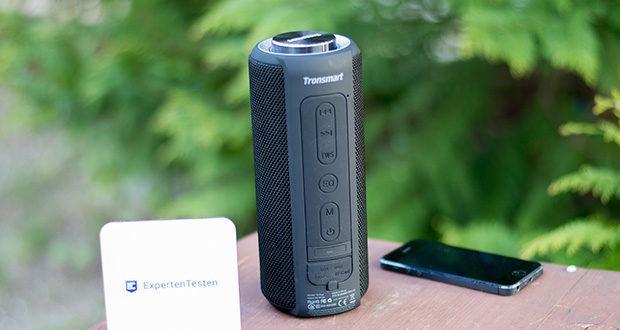 Tronsmart T6 Plus Bluetooth Lautsprecher im Test - Stereo-Kopplungsfunktion (TWS Tech), 360 ° Stereo Sound