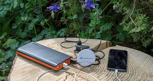 EasyAcc 20000mAh Powerbank im Test - mehrere Sicherheitssysteme sorgen dafür das Sie und Ihre Gerät zu jedem Zeitpunkt sicher sind