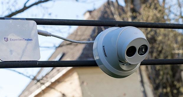 ANNKE 4K HD IP Überwachungskamera im Test - robustes wetterfestes IP67-Metallgehäuse
