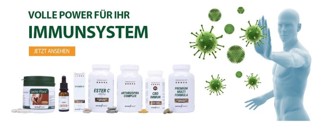 Nahrungsergänzungsmittel für ein starkes Immunsystem