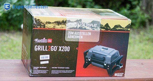 GRILL2GO X200 von Char-Broil mit TRU-Infrared Grillsystem