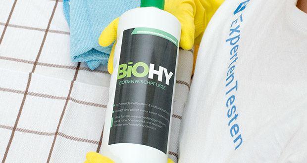 BIOHY Bodenreiniger im Test - innovative Reinigungsmittel von Profis für Profis