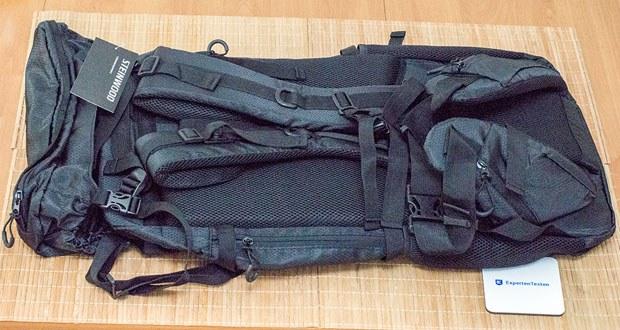 Steinwood Trekkingrucksack 70L im Test - ein 8 Stufen-Rückensystem garantiert höchsten Tragekomfort und ist einstellbar für jede Körpergröße