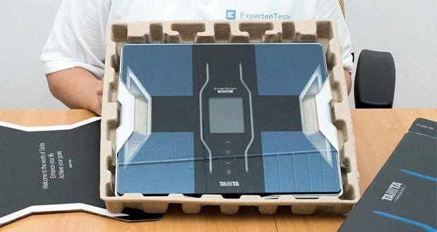 Tanita intelligente Waage RD-953 bietet mehr als 10 Körperzusammensetzungs-Auswertungen