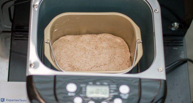 Brotbackautomat von Aicok im Test - 15 Stunden Reservieren: Sie können die Zeit, in der Sie Brot backen, beliebig in weniger als 15 Stunden planen