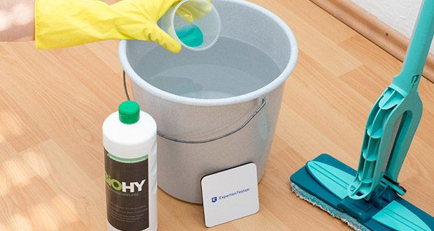 BIOHY Bodenreiniger im Test - wirkt rutschhemmend und reduziert Wiederverschmutzung