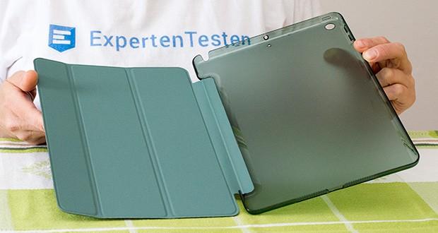 EasyAcc Hülle für iPad 5/6 im Test - Apple-Symbol kann gesehen werden, während Sie Ihr Gerät vor Fingerabdrücken und Kratzern schützen