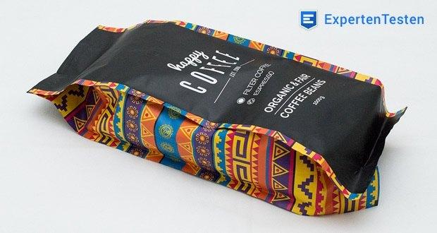 Alle Kaffees von Happy Coffee sind bio-zertifiziert und stammen aus fairem Direkthandel mit Kleinbauern