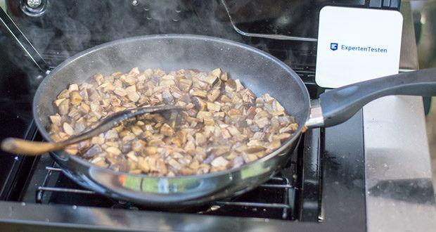KLAMER Profi Edelstahl-Bratpfanne im Test - Erhitzbar bis 250°C / Backofenfest bis 150°C