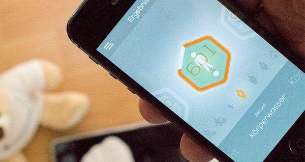 Tanita intelligente Waage RD-953 verbindet sich mit der My Tanita App