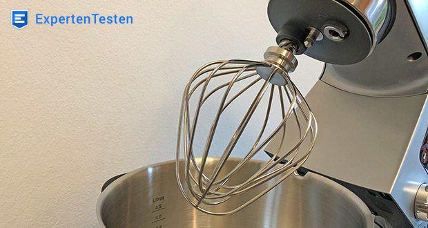 Kenwood Cooking Chef Gourmet KCC9060S Küchenmaschine im Test - Rührgeschwindigkeit intuitiv über Drehregler steuerbar