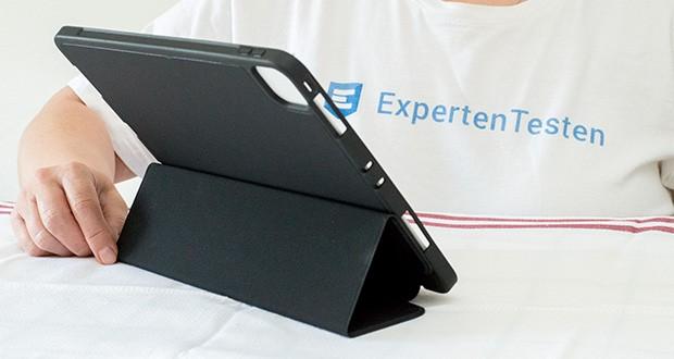 EasyAcc Hülle für iPad Pro 11 im Test - Standfunktion für zwei Positionen