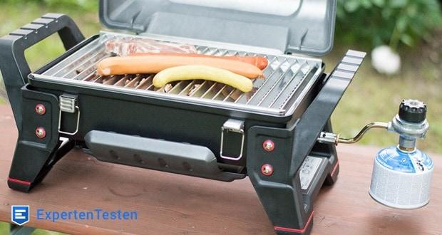 Char-Broil GRILL2GO X200 - Edelstahl Grillrost ist groß genug für bis zu 12 Hamburger