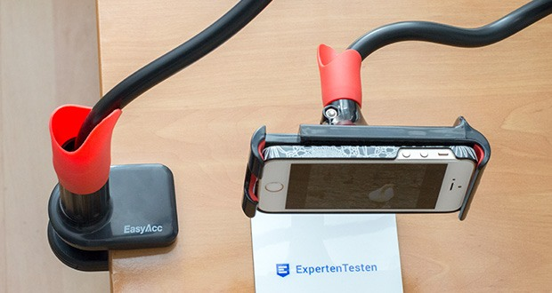 EasyAcc Tablet Halterung Handyhalter im Test - Gerätehalter Höhe: 123-190mm