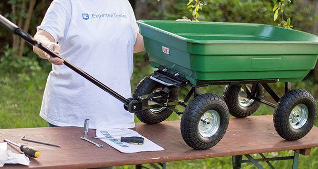 Izzy Sport Bollerwagen im Test - es ist ein vielseitig einsetzbares Transportmittel