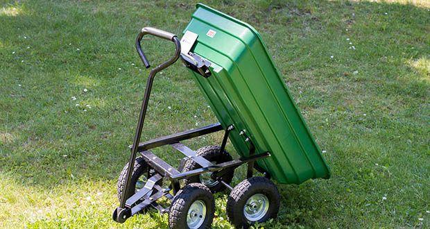 Izzy Sport Bollerwagen im Test - vielseitig einsetzbar z.B. für Einkäufe, Gartenabfälle, als Stallhelfer, als Baustellenhelfer usw.
