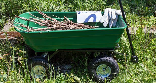 Izzy Sport Bollerwagen im Test - kann auch loses Material transportiert werden