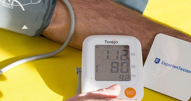Turejo Oberarm Blutdruckmessgerät im Test - weit verbreitet zu hause und klinik