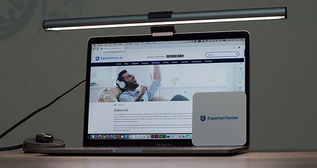 BenQ ScreenBar Plus LED-Monitor-Lampe im Test - optimale Beleuchtung Ihres Bildschirmarbeitsplatzes